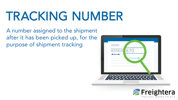 Tracking Number Definition Freightera Freight Glossary