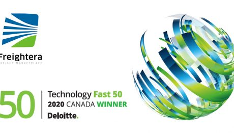 Deloitte Freightera Fast50 technology award