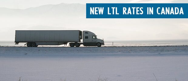 New LTL Freight Rates Canada