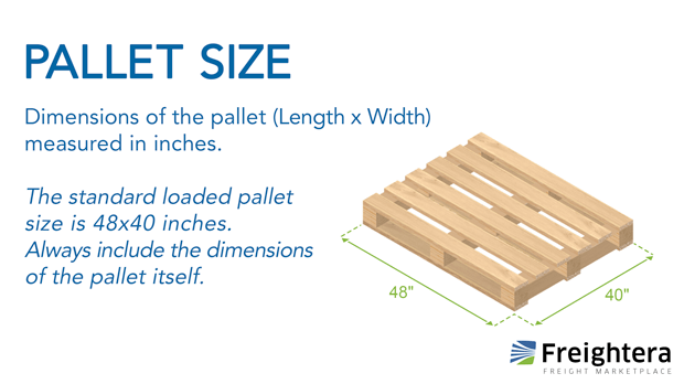 Pallet Size Freightera Freight Glossary Definition