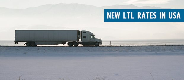 New LTL Rate Update in USA truck image