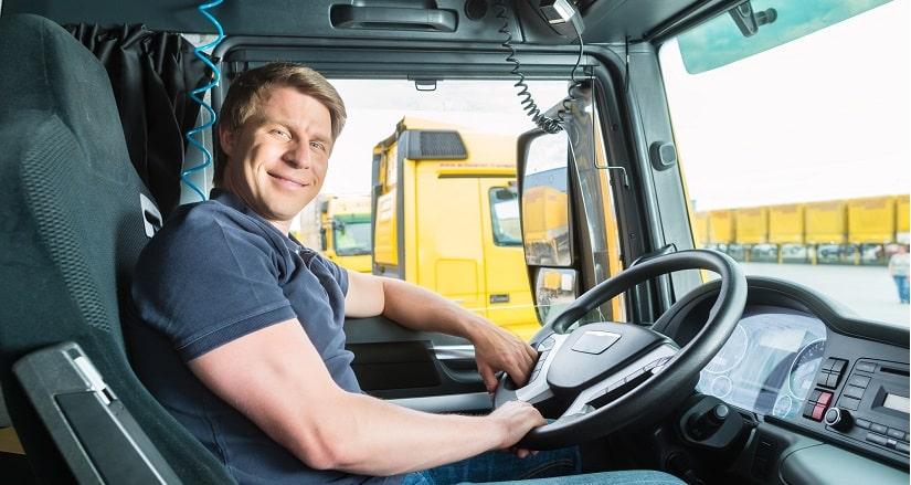 Freight truck driver