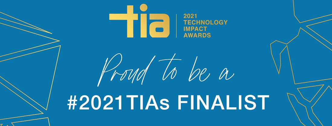 Proud to be a TIA awards finalist