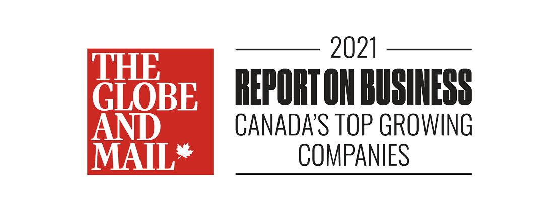 The Globe and Mail Header Report on Business Canada's top growing companies