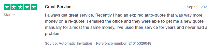 Freightera customer review 1
