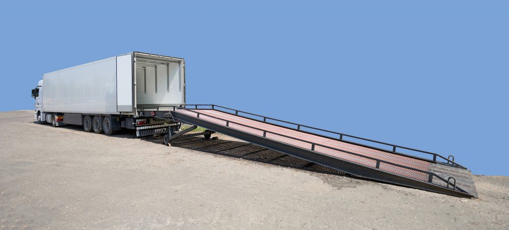 Example of a loading ramp